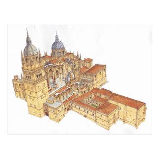 Salamanca Cathedral. Spain Postcard