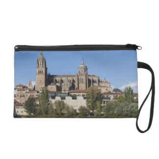 Salamanca Cathedrals and town 2 Wristlet Clutches