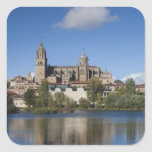Salamanca Cathedrals and town 2 Square Sticker