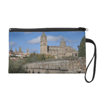 Salamanca Cathedrals, viewed from Puente Romano Wristlet Clutch