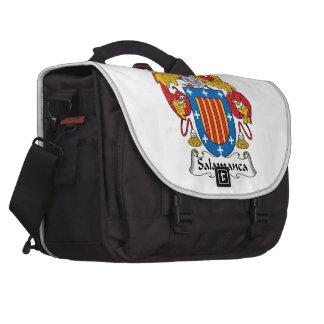 Salamanca Family Crest Laptop Messenger Bag