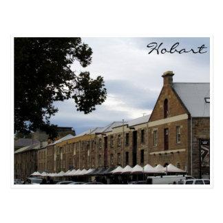 salamanca place hobart postcard