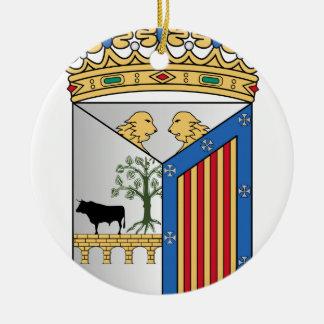 Salamanca (Spain) Coat of Arms Ceramic Ornament