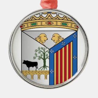 Salamanca (Spain) Coat of Arms Metal Ornament