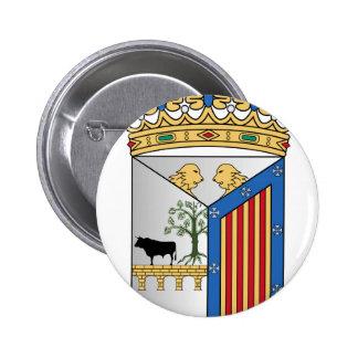 Salamanca (Spain) Coat of Arms Pinback Button