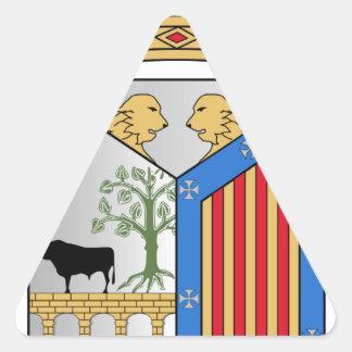 Salamanca (Spain) Coat of Arms Triangle Sticker