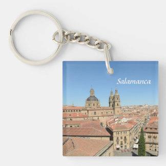 Salamanca, Spain Double-Sided Square Acrylic Keychain