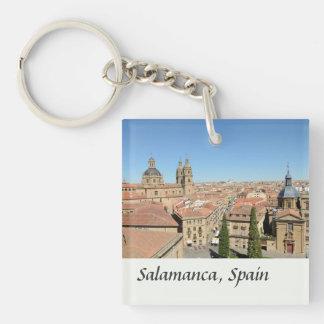 Salamanca, Spain Single-Sided Square Acrylic Keychain