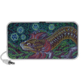Salamander de Barton Springs sosorum de Eurycea PC Altavoces
