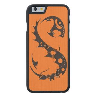 Salamander de la tinta funda de iPhone 6 carved® de arce
