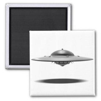 Salamander del UFO Imán Cuadrado