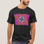 Salamander - Fractal Art T-Shirt