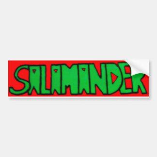 Salamander Logo Bumper Sticker