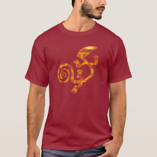 Salamander (Orange Fantasy) T-Shirt