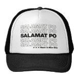 """Salamat Po """"le agradece"""" diseño del bolso de ultra Gorro De Camionero"""