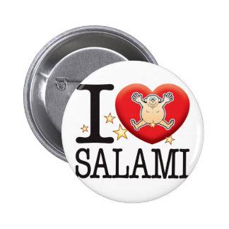 Salami Love Man 2 Inch Round Button