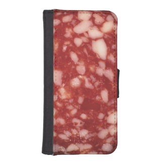 Salami Wallet Phone Case For iPhone SE/5/5s