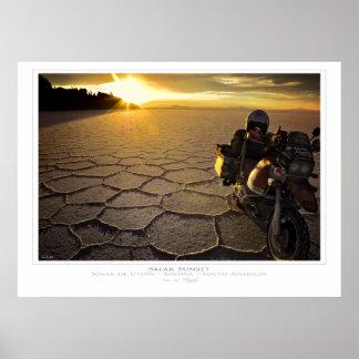 Salar Sunset Print