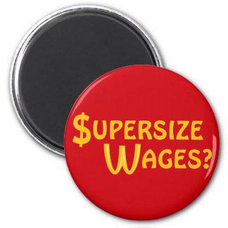 ¿Salarios extragrandes? Iman Para Frigorífico