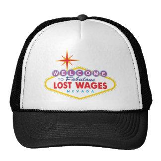 Salarios perdidos gorros bordados