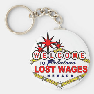 Salarios perdidos NEVADA Llavero Personalizado