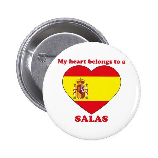 Salas 2 Inch Round Button
