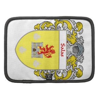 Salas Coat of Arms/Family Crest Folio Planner