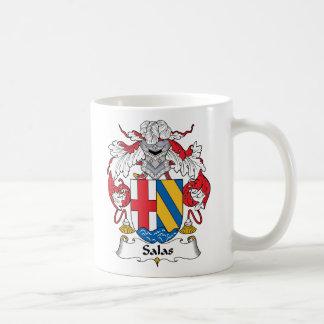 Salas Family Crest Coffee Mug