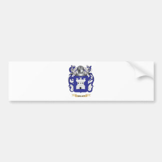 Salat Coat of Arms (Family Crest) Car Bumper Sticker