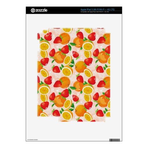 salat de la fruta iPad 3 skin