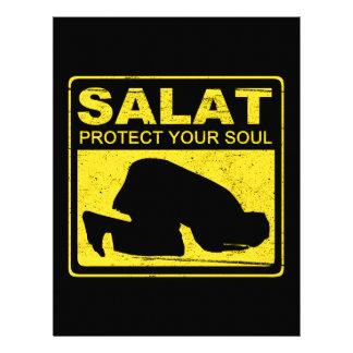 Salat Protect Your Soul Letterhead