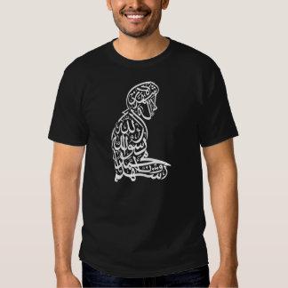 Salat Shahada Islam Muslim Mens Dark T-Shirt