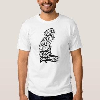 Salat Shahada Islam Muslim Mens T-Shirt