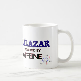 Salazar accionó por el cafeína taza
