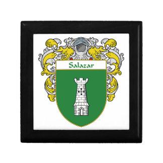 Salazar Coat of Arms/Family Crest Keepsake Box
