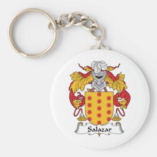 Salazar Family Crest Keychain