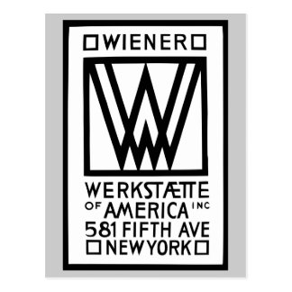 Salchicha de Frankfurt monocromática Werkstaette d Postales