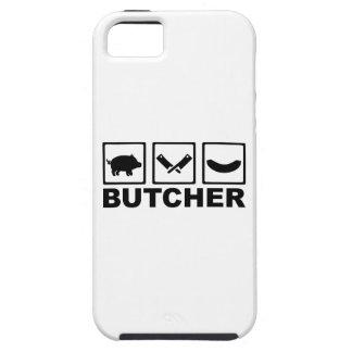 Salchicha de la cuchilla del cerdo del carnicero iPhone 5 protector