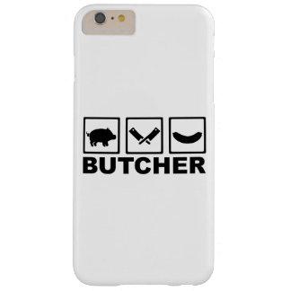 Salchicha de la cuchilla del cerdo del carnicero funda de iPhone 6 plus barely there