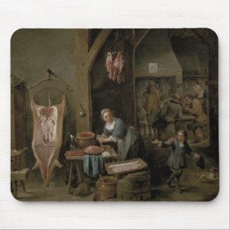 Salchicha-making, 1651 alfombrilla de ratón