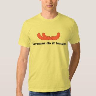 ¡Salchichas! El alemán lo hace más de largo Polera