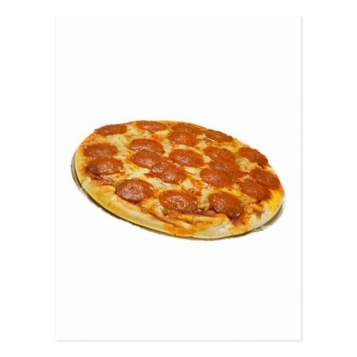 Salchichones y pizza de queso postales
