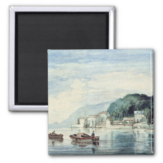 Salcombe, Devonshire 2 Inch Square Magnet