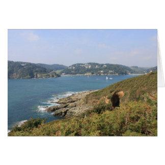 Salcombe Estuary, Devon Card
