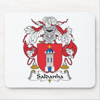 Saldanha Family Crest Mouse Pad