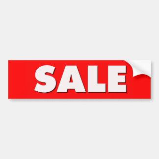 Sale Bumper Sticker
