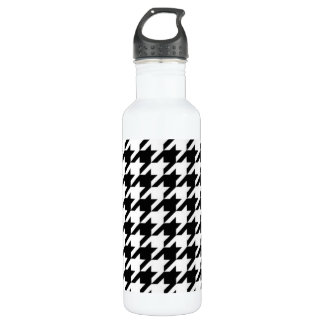 SALE - CLASSIC HOUNDSTOOTH  24OZ WATER BOTTLE