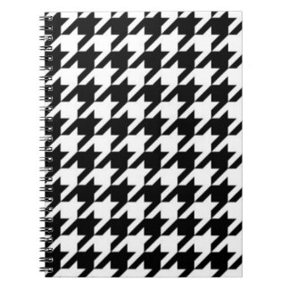 SALE - CLASSIC HOUNDSTOOTH SPIRAL NOTEBOOK