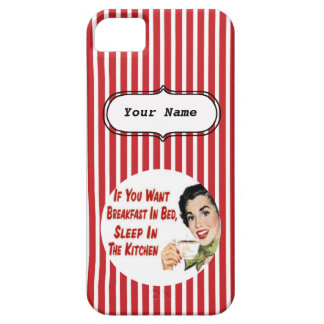 SALE - Custom Happy Housewife Red iPhone 5 Case
