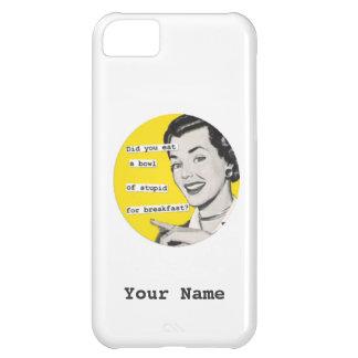 SALE - Custom Name Happy Housewife iPhone 5 Case